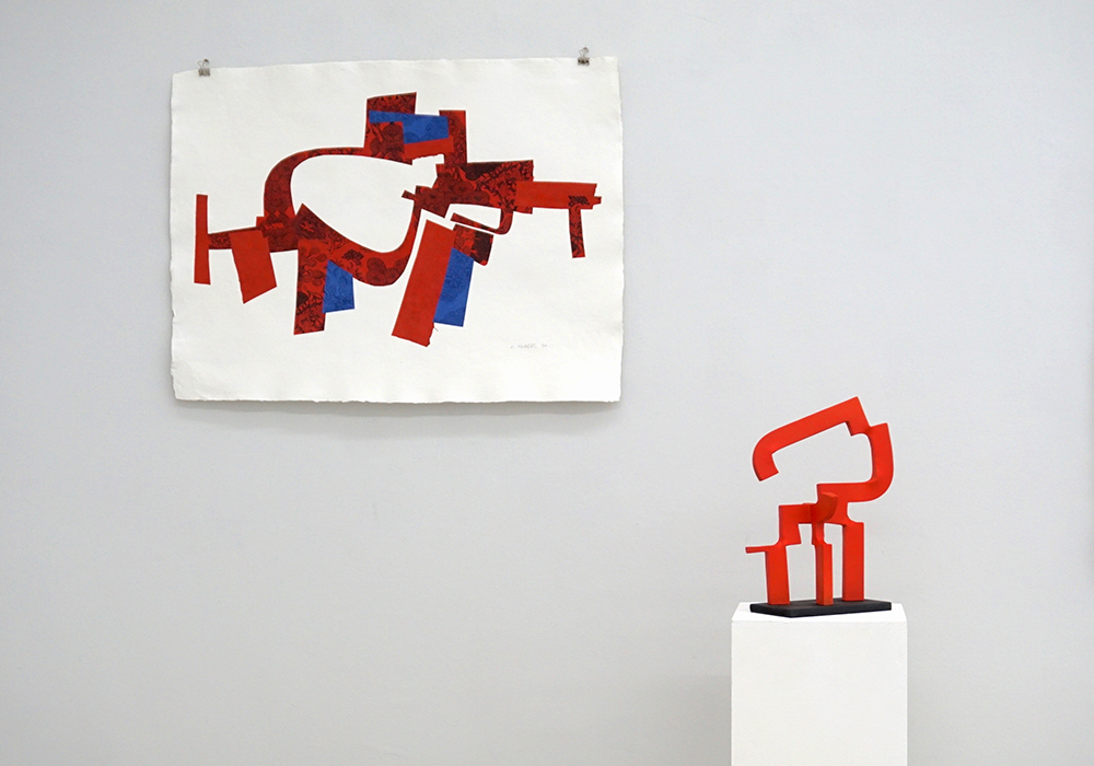 Carlos Albert At 100 Kubik Art Gallery «Raum Und Farbe»